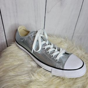 -Converse Amputee Right foot metallic mint